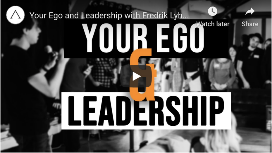 Your ego and the transition to leadership